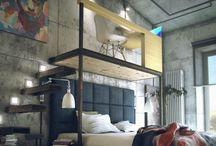 Dormitorios / #dormitorios# guardillas