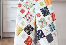 Quilt with square