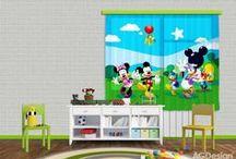 Gyerek függöny / Gyerekszoba függöny, készfüggönyök fiú és lányszobába. Disney mintás gyerek függönyök, Minnie egeres gyerek függöny, Mickey mouse, Micimackó, Némó, Jégvarázsos függöny, Szuperhösők és állatos gyerek sötétítő függönyök