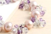 Amethyst and pearls / Close to heart, my birthstone and so pretty. My first and second loves!!