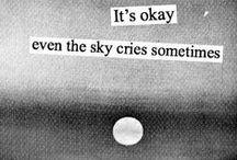 • Pensamentos .