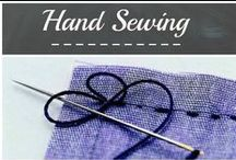 Hand sewing / Tips and ideas for hand sewing