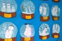 Tvoření s dětmi - Zima