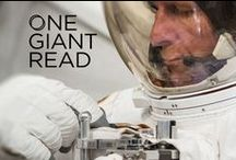 One Giant Read / Literature Works is heading into Space as our UK Space Agency and RNIB partnership project, One Giant Read, launches on December 1st 2015.  As British European Space Agency astronaut Tim Peake's Principia Mission prepares to launch to the International Space Station, One Giant Read offers those of us remaining on Earth a themed, online writing and reading challenge.