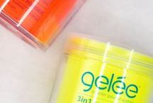 3 in 1 Nail Powders / 3 in 1 powder.  Dip it, use it with our gel system, or with an acrylic system!
