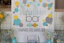 Baby it's a Shower / Hosting a baby shower has never been easier with these great ideas and cocktail recipes!