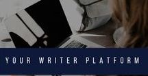 Your Writer Platform / The latest tips, articles and resources for writers and authors struggling to build their platform from www.YourWriterPlatform.com