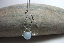 Aquamarine March Gemstone / Aquamarine Handmade Jewellery for March birthdays #aquamarine #jewellery