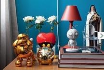 Home Decor / combinação de cores detalhes de decoração / by Karyn Mathuiy