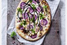 focaccia/pizza/tart
