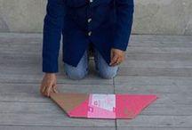 ¿adónde? cardboard / Objets en carton / cardboard design by ADONDE