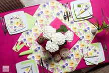 BE INTO SPRING! / tablesettings and decorations