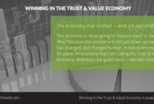Winning in the Trust and Value Economy / A Guide to Sales Success and Business Growth