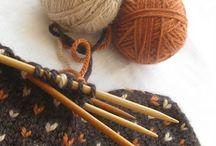 :knit & :crochet / Druty i szydełko