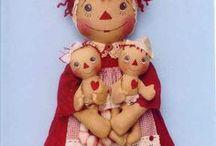 ЧЕРДАЧНАЯ КУКЛА. / Тряпичные куклы и игрушки, выполненные под старину (состаренные).