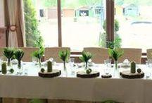 Konwalie na ślubie i weselu / Konwalie i gipsówka w dekoracjach na ślubie i weselu.