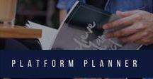 Platform + Productivity Planner / Believe, Plan, Act: A Platform + Productivity Planner for Writers. The complete productivity + planning system for your author business.