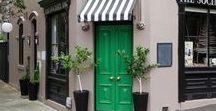 Shop windows and doors