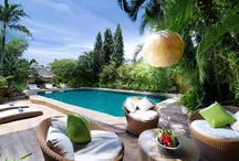 Luxurious villas in Bali <3 / Superb, luxuriously decorated villas in Bali, with swimming pools, grand bedrooms, green gardens, unrestricted nature views and customisable services such as private chef, spa, driver, airport transportation. Perfect for a deluxe getaway with friends or family. Time to be indulged by leisure and luxury.