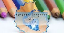 Science Projects and STEM / Collection of fun and safe science experiments for all ages. Includes projects and activities learning about STEM (science, technology, engineering, and math)