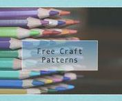 Free Craft Patterns / Print easy craft patterns for fun activities for preschool lessons; free printable, samples, and templates