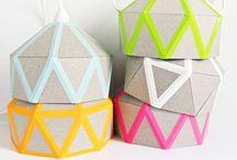 Lampshade Fashion / Inspiring lampshades!