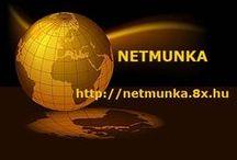 NETMUNKA / Pénzkereső ötletek az interneten!