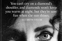 Diamonds R a girl's best friend! / Diamonds...