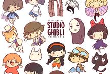 Ghibli ̄^ν / Studio Ghibli, the best hand made movies maker.