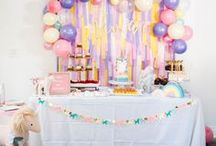 Birthday Party Ideas | Fiestas de cumpleaños / Beautiful birthday party ideas | Ideas muy bonitas para organizar una fiesta de cumpleaños.