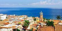 Puerto Vallarta | Riviera Nayarit / Esta es mi bella ciudad en fotografías.   Ubicada entre montañas y mar, Puerto Vallarta es una ciudad que permite ser capturada en todos sus rincones.   La mayoría de las fotos son mi propiedad y están pineadas directamente desde mi sitio web www.shepetite.com o mi Instragram: @dulcepart