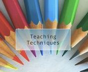 Teaching Techniques / Collection of teaching strategies for teachers about classroom management, co-teaching, ELL education, and general techniques.