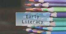 Early literacy / Collection of early literacy tips to help teachers of preschoolers develop reading skills.