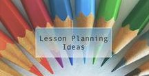 Lesson Planning Ideas / Collection of lesson templates and samples to organize your year round lesson assessments, goals, and instructional benchmarks