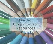 Teacher organization resources / Tips and strategies to organize teachers' binders, folders, graded papers, and your desk