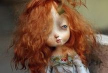 DIY dolls other than Waldorf / Dolls I would love to make--and dolls I am 'collecting' because I love their look! / by Marianna Bailey