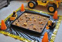 Construction Party Ideas / by Scarlett A. Rivera