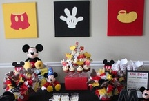 Mickey Mouse Party Ideas / by Scarlett A. Rivera