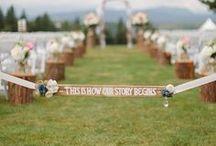 Rustic Weddings / Ideas for  weddings on the farm.