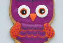 owl cookies / by Lynne Ver Straete