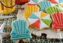 summer cookies / by Lynne Ver Straete