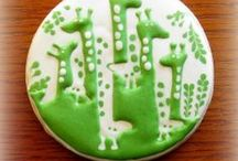 pattern/plaque/letter/number cookies / by Lynne V