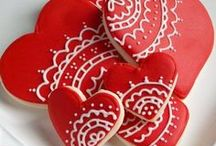 heart/love cookies / by Lynne V