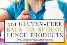 Gluten-Free Lunch Ideas / These are pins that include gluten-free lunch ideas for kids, gluten-free lunch ideas for work, easy gluten-free lunch ideas  and more