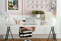 Work Space / How I want my graphic design studio to look!