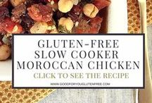 Gluten-Free Slow Cooker Recipes / Awesome Gluten-Free Slow Cooker or Crockpot recipes! #goodforyouglutenfree