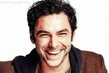 Aidan Turner / A loveable, goofy Irishman named Aidan Turner.