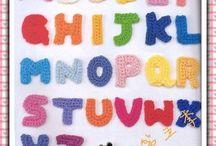 Alfabet crochet