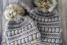 Crochet hat and beanie