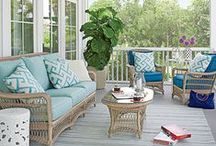 "Coastal Living / Decorating ideas for my ""dream vacation home"" / by Barbara Pepio"